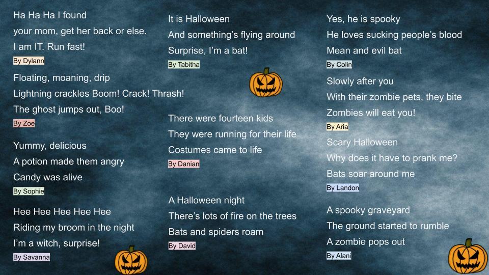 Halloween Haikus (1)