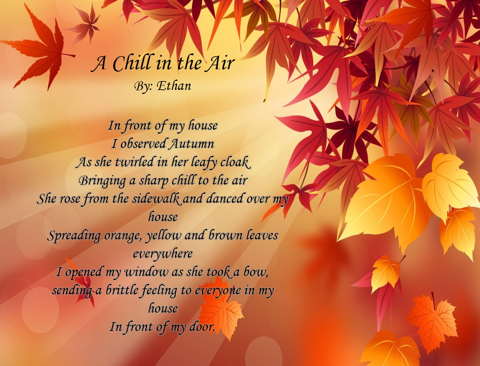 Autumn by Ethan