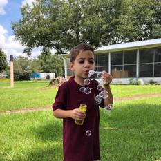Outdoor Montessori Fun