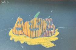 Rotting Pumpkins by Chris