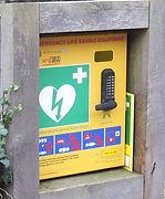 Maugersbury village defibrillator