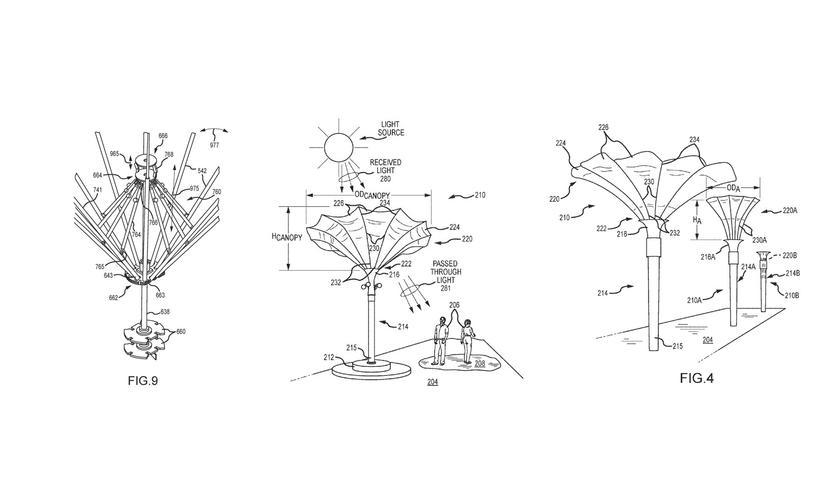 Deployable Shade Structure Patent