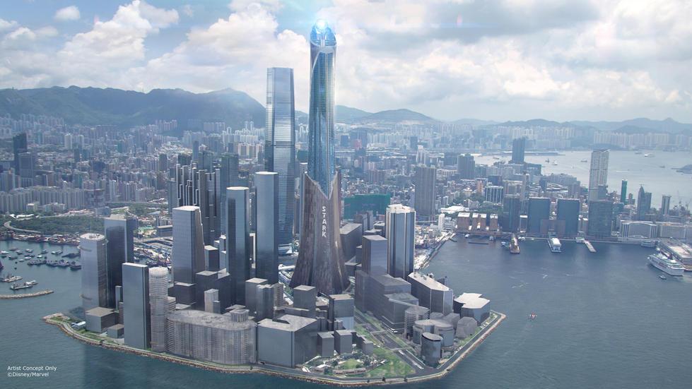 ILM Render of Hong Kong