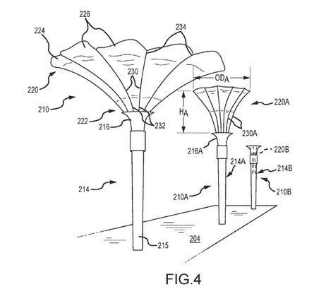 Shade Structure Patent