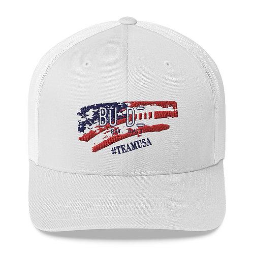 BU DOU USA Trucker Cap