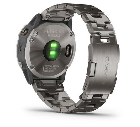 garmin oman fenix 6X Pro solar titanium