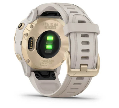garmin oman fenix 6S Pro Solar light gold