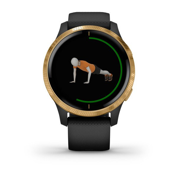 garmin oman venu black gold