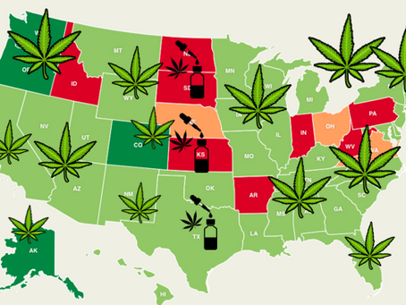 States Where Recreational Marijuana is Legal [ 2020 Guide ]