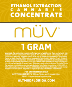MUV concentrates Gold
