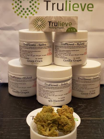 TruFlower 9LB Hammer Indica flower products