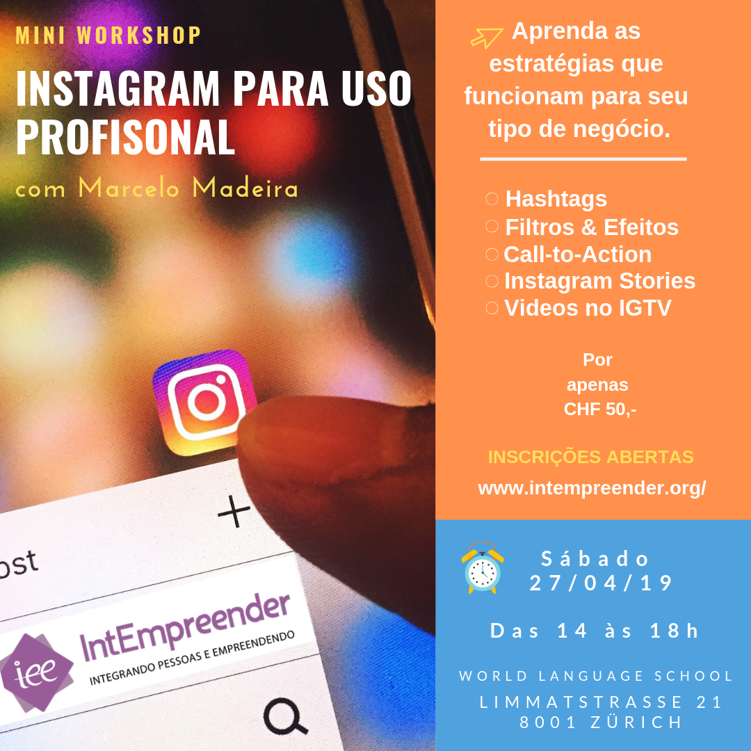 Instagram para uso Professional