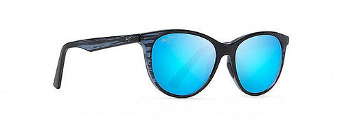 CATHEDRALS Blue Black Stripe