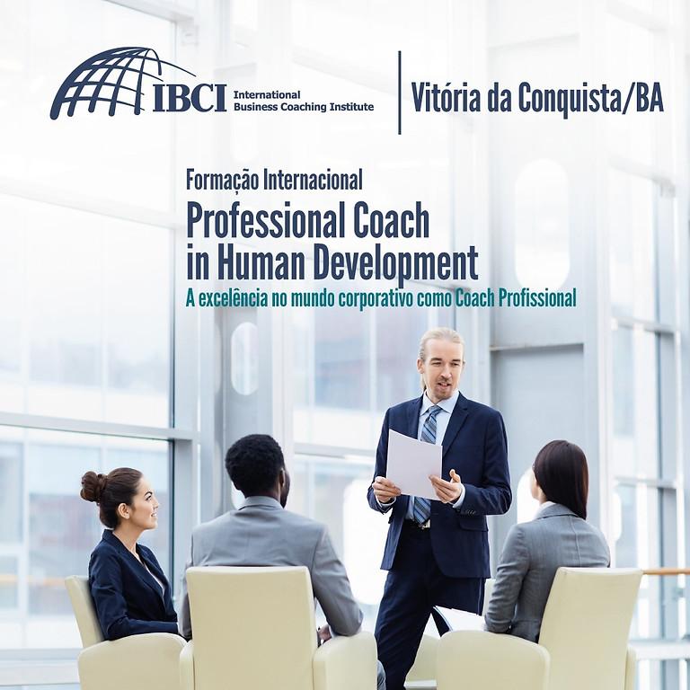 FORMAÇÃO INTERNACIONAL - Professional Coach In Human Development