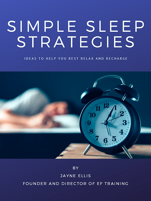 Simple Sleep Strategies