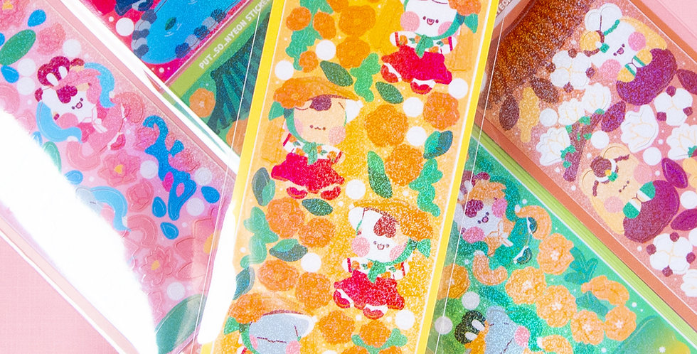 PUT SO NYEON Joseon Flower Sticker