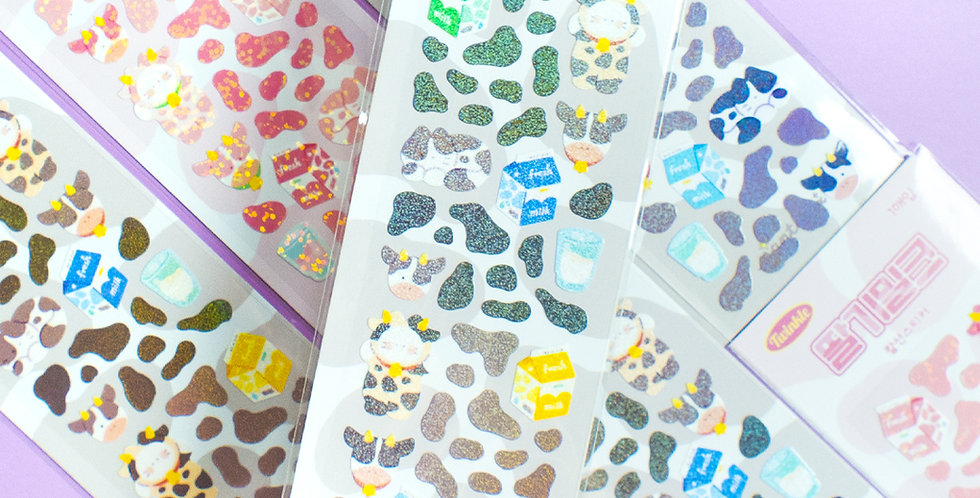 MANTA BOX Twinkle Milk Sticker
