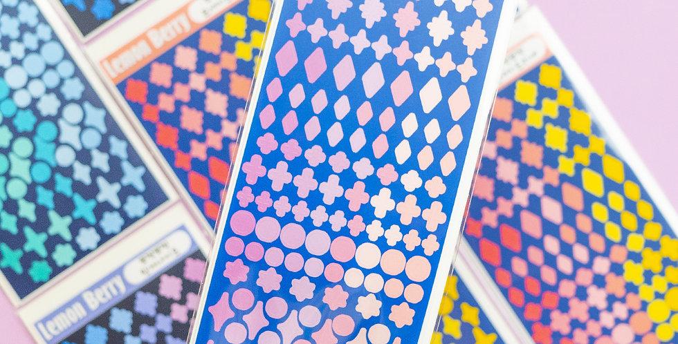 LEMON BERRY Cute, Cute Sticker