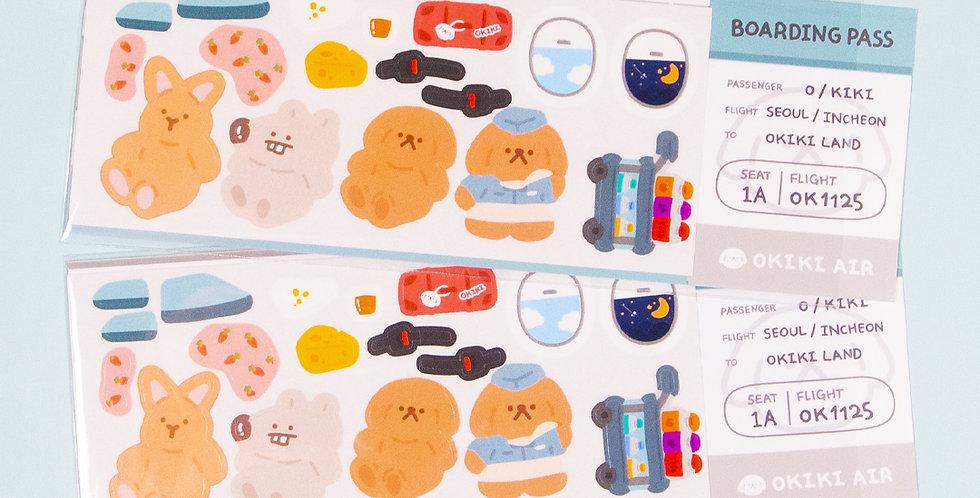 OKIKI Air Sticker