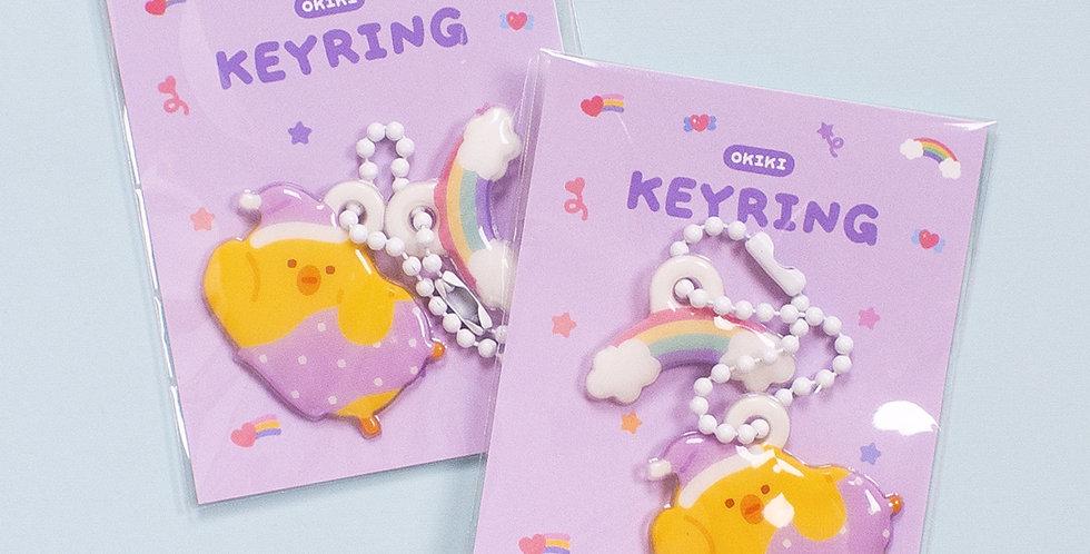 OKIKI Sweet Dream Akong Soft Key Ring