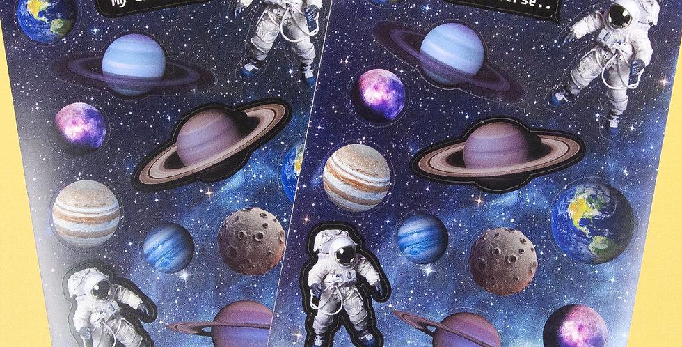 LOVE THINGS My Universe Sticker