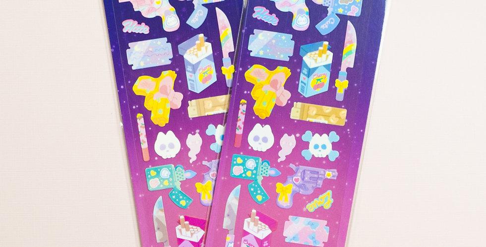 MANTA BOX Shiny Dangerous Things Sticker
