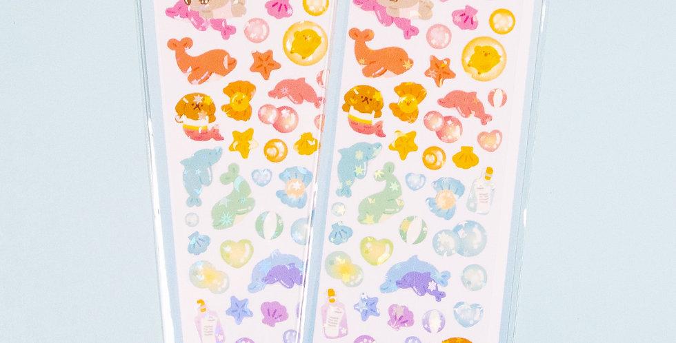 OKIKI Dolphin Sticker