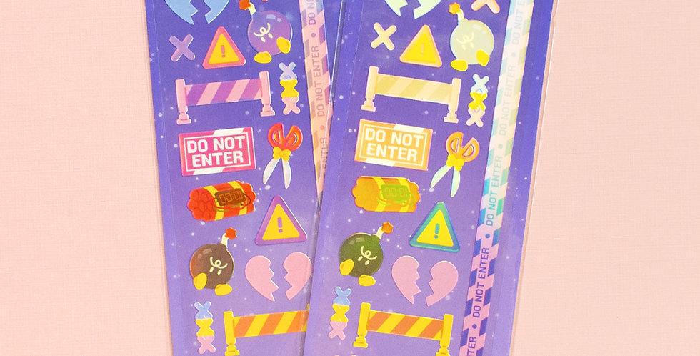 MANTA BOX Shiny Dangerous Things 3 Sticker