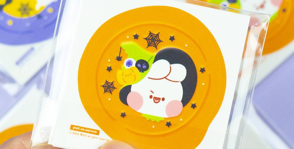 PUT SO NYEON Halloween Sealing Wax Sticker