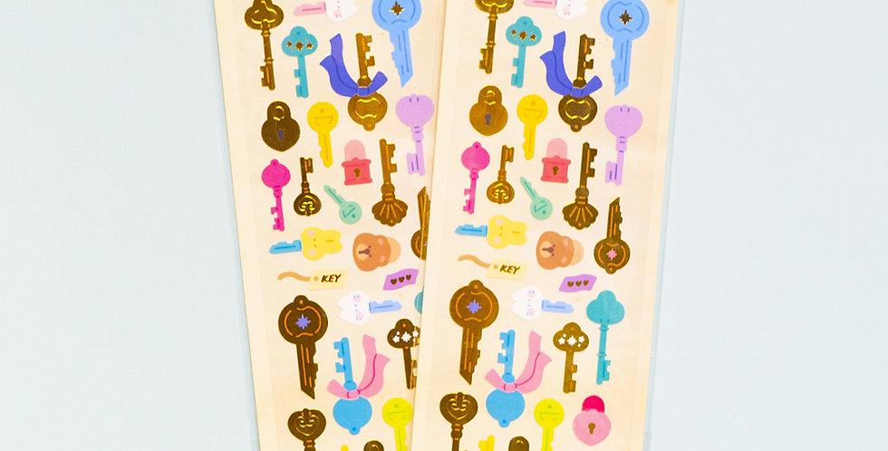 MANTA BOX Sparkling The Key Sticker