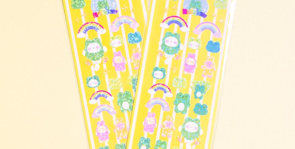 MANTA BOX Twinkle Ribbit Ribbit Sticker