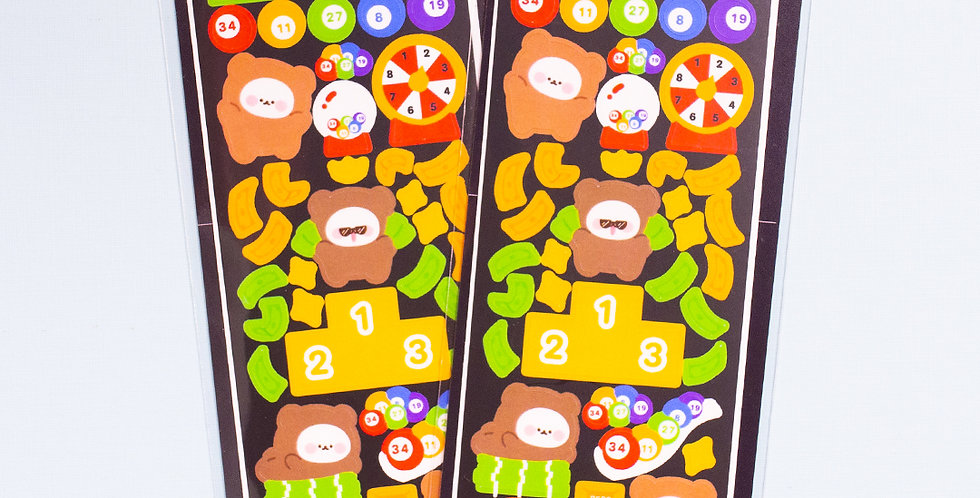 COTTON DANCHOO Lottery Sticker