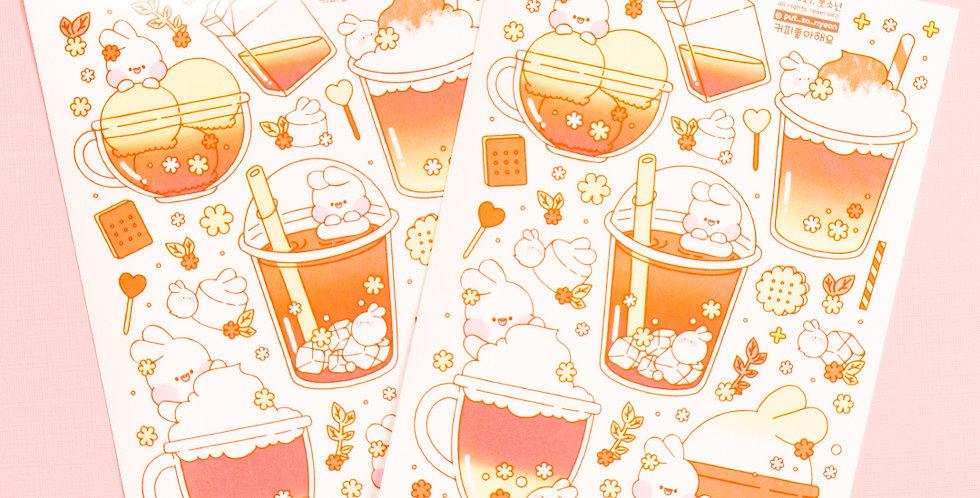 PUT SO NYEON Coffee Sticker