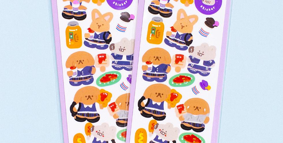 OKIKI Nostalgic Snack Sticker