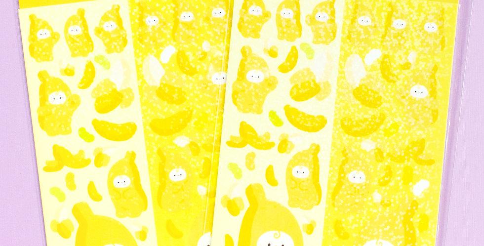 JOIE ATELIER Banana Kobi Twin Sticker