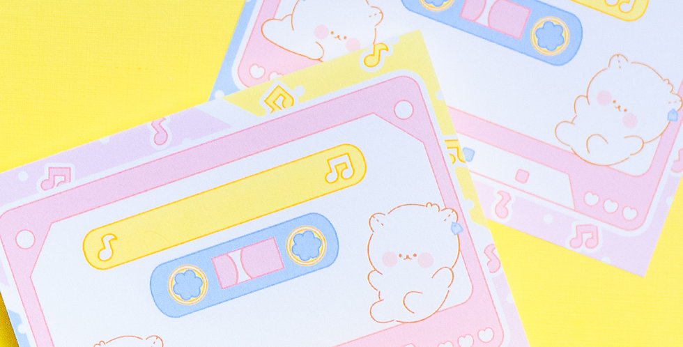 COTTON DANCHOO Cassette Memo