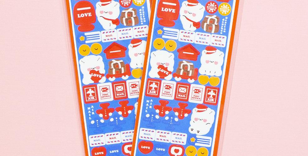 COTTON DANCHOO Love Letter Sticker