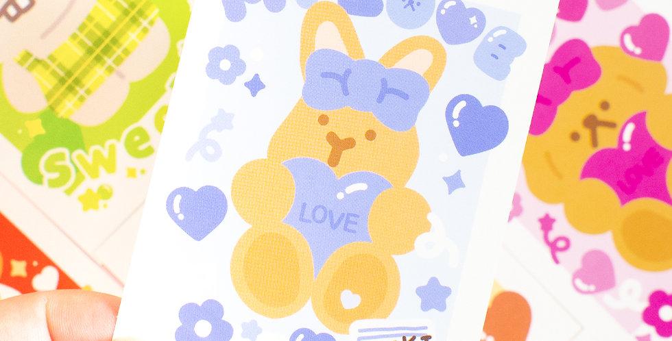 OKIKI Polaroid Square Sticker