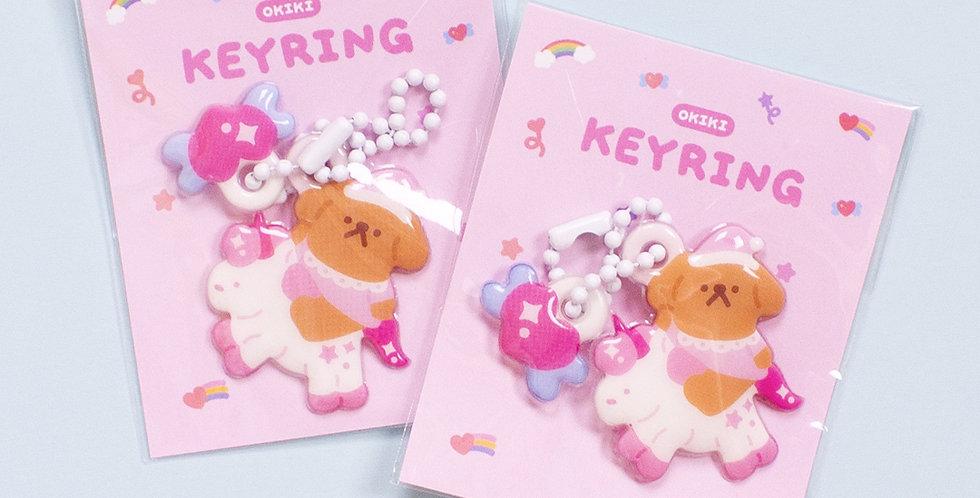 OKIKI Sweet Dream Daengi Soft Key Ring