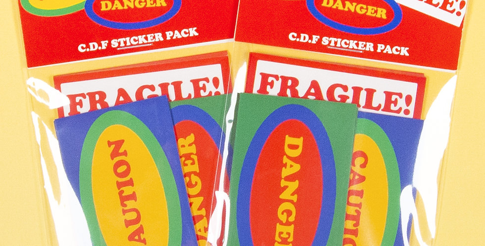 LOVE THINGS C.D.F. Sticker Pack