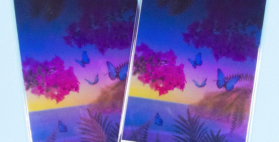 APPREE Tropical Night Nature Scene Sticker