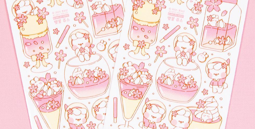 PUT SO NYEON Blossom Juice Sticker