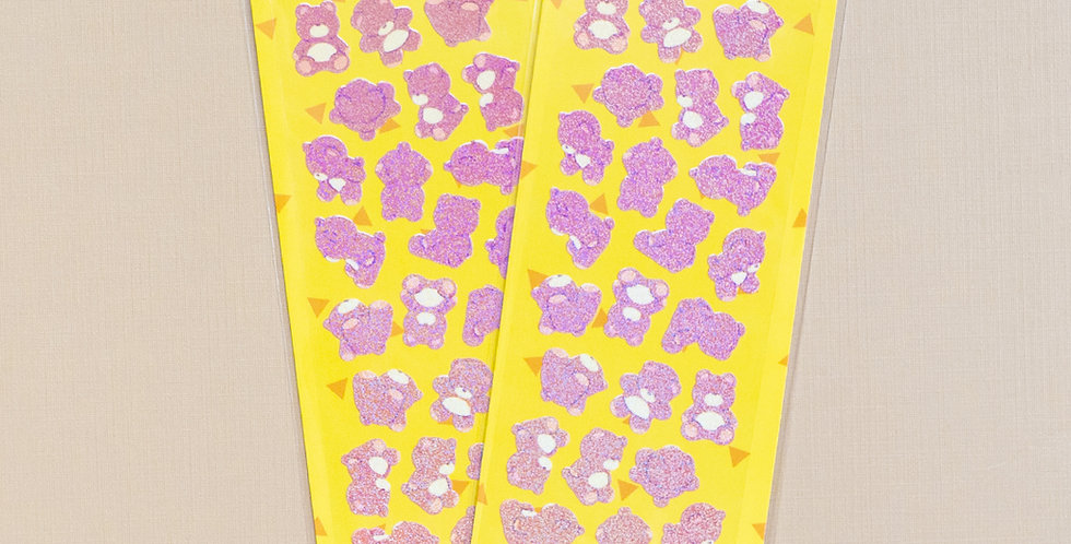 MANTA BOX Twinkle Multi Angle Bear Sticker