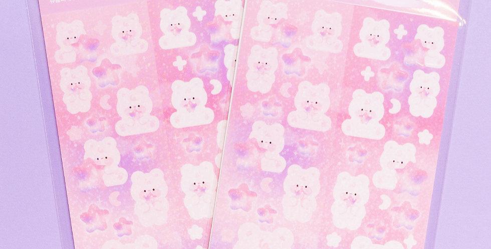 JOIE ATELIER Pink Star Kobi Twin Sticker