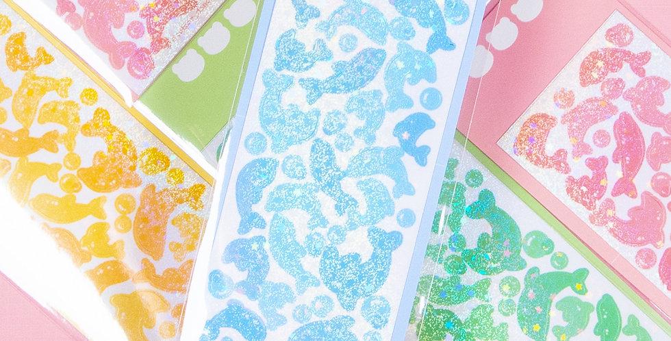 COTTON DANCHOO Dolphin Deco Sticker