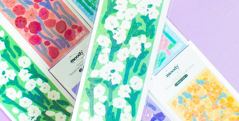 MOODY Flower Series Sticker