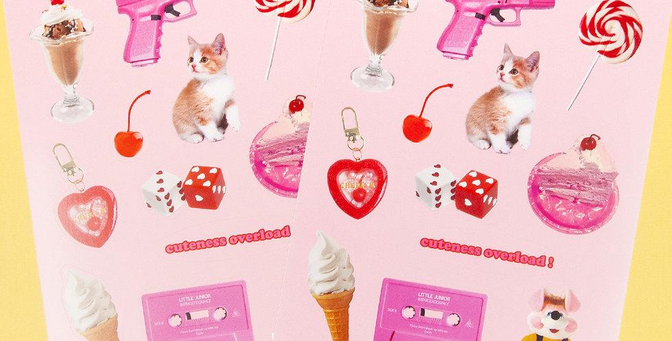 LOVE THINGS Cuteness Sticker