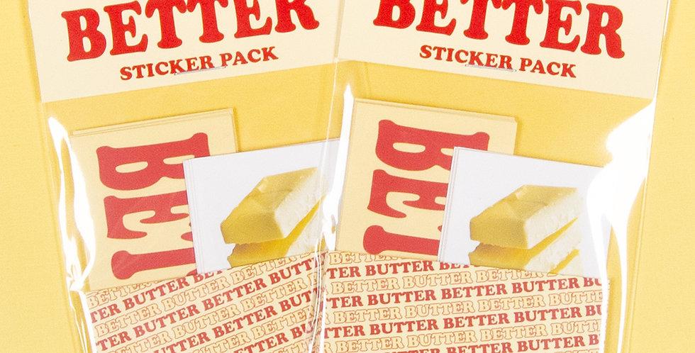 LOVE THINGS Butter Better Sticker Pack