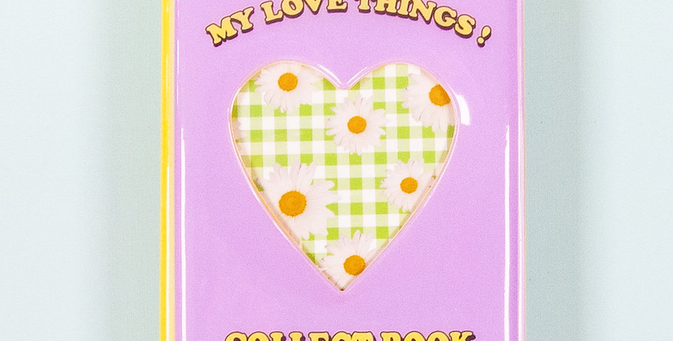 LOVE THINGS Spring Collect Book - Lilac