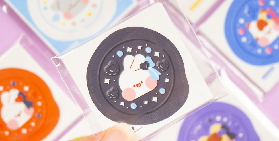 PUT SO NYEON Jewelry Sealing Wax Sticker
